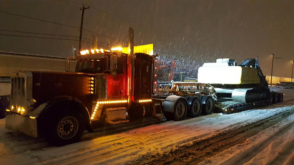 Northside Transport Equipped for All Weather Heavy Haul