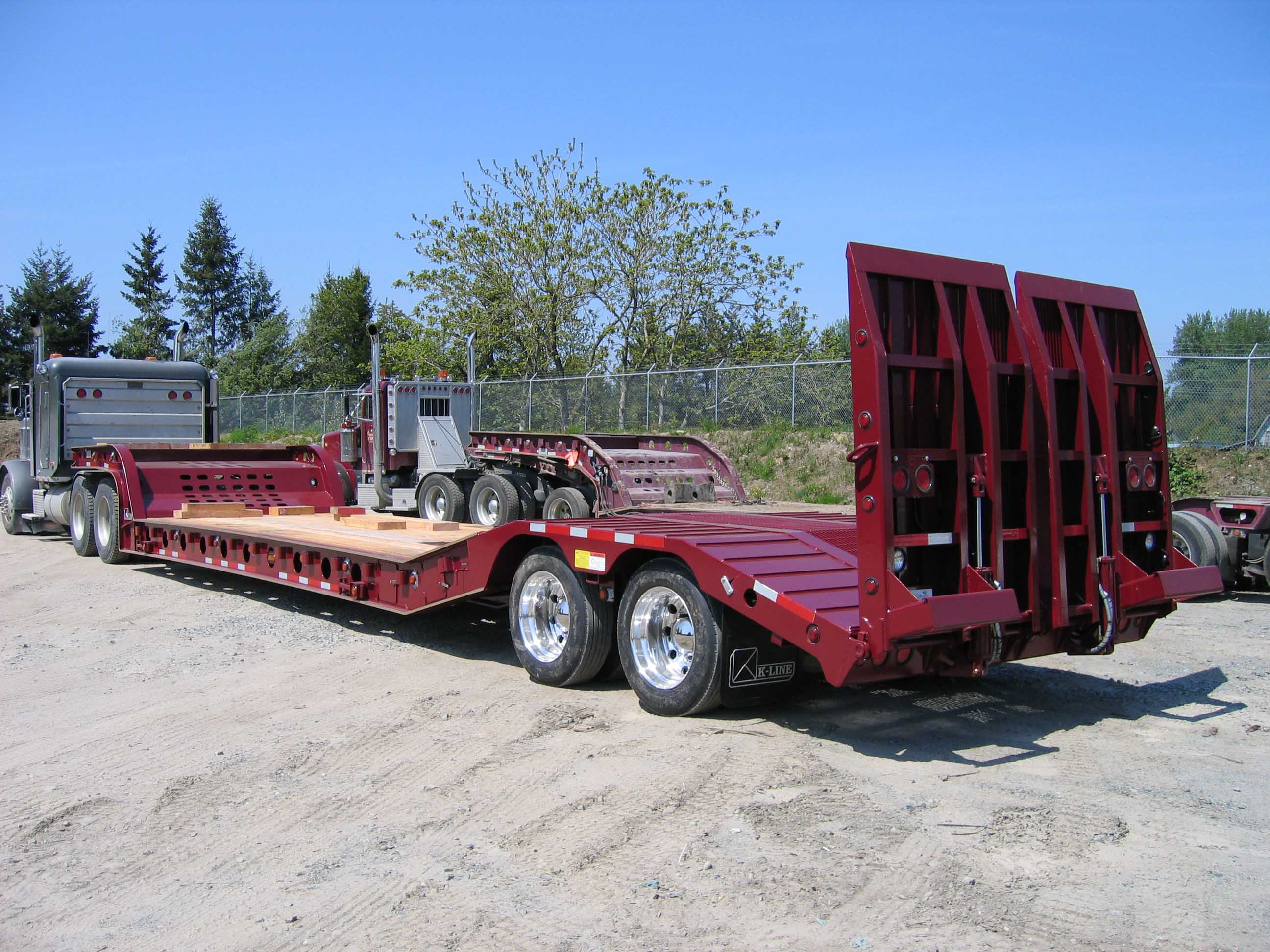 Ramp Bed Transport Trailer Lower Mainland